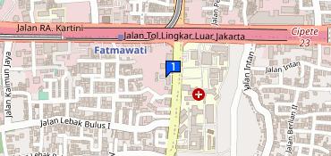 Kantorpos Dc Jakarta Selatan Lebak Bulus Telepon 62 21 7500225